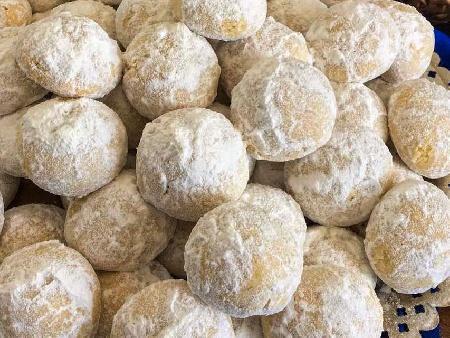 Маслени сладки топчета с орехи - снимка на рецептата